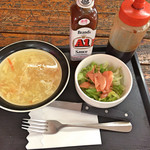 マイハウス - スープ&サラダ(ステーキ)
