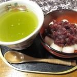 古民家カフェ&ダイニング 枇杏 - 16/1/10 白玉ぜんざい