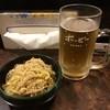 柳屋ホルモン焼 - 料理写真:1週間後に再訪 また豆もやしとホッピー