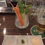銀座 BAL KAKA - 野菜スティック