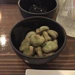 銀座 BAL KAKA - 塩茹でそら豆