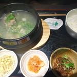 熟成焼肉 听 - テールスープ定食