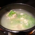 熟成焼肉 听 - テールスープ本体