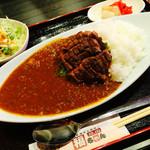 焼肉 福ちゃん ひびきの店 - 牛タンカレーランチ¥980