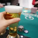 アミューズメントカジノジクー - 生ビール