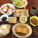 シャンデリア・レストラン - 和定食 1100円