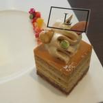 47254944 - コウタツ スタイル:ケーキ2種類(ロッソ・ルビーノ、マメーリ)、コーヒー3