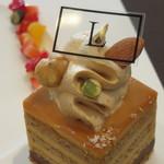 47254945 - コウタツ スタイル:ケーキ2種類(ロッソ・ルビーノ、マメーリ)、コーヒー4