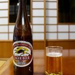 山水荘 - 瓶ビール