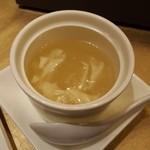 Tentsuusaikan - セットのスープです。