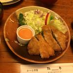 瓢亭  - とんかつ定食