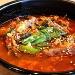 牛園 和牛焼肉 - ユッケジャンスープ