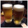 串揚げ工房 遊季 - ドリンク写真:生ビール 550円×2