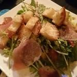 BAR mix 226 - 水菜と生ハムのサラダ