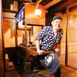 九州鳥酒 とりぞの 六本木 - ZONO「屋台を引く店主ZONOだぁー!」