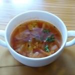 マナ - セットのスープ