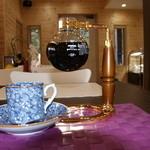 こばとカフェ - サイフォンコーヒー2杯だて