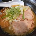 濃麺 海月 - 鶏濃麺(醤油)750円