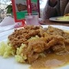 cafe Sari - 料理写真:盛合せカレー(インドとドライ)¥1050