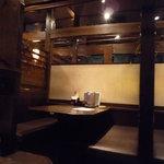 海鮮居酒屋 花の舞 - 店内(4名席)