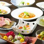 吉田屋 - 料理写真:夜の懐石courseは月替わり。特別な時間をお過ごし下さいませ。