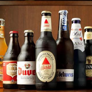 ビールの種類は50種以上!