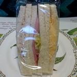 ファインブレッド - Fine Bread 本店 @東葛西 ミックスサンド 310円(税込)包装形態