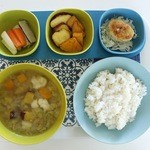 スープカフェ リンヌンラウル - 料理写真:ベジタブルセット¥980