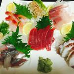 寿司まさ - お刺身盛り合わせ 2人前  4,000円