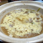 湯の元温泉 - かも鍋雑炊