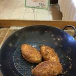 おかやま工房 リエゾン - リエゾン(岡山県岡山市北区田中)牛肉と野菜のカレーパン162円