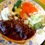 cafe花豆 - 料理写真:和牛ほほ肉の赤ワイン煮