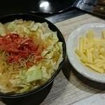 47279581 - 明太子&チーズもんじゃ