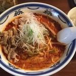 ラーメン・餃子 ハナウタ - 特辛薬膳味噌