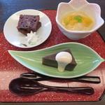 胡蝶 - 雛の膳 デザート
