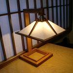 かみくら - 個室の照明