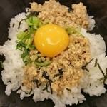 すき家 緑区平手北店 - 卵黄投下!