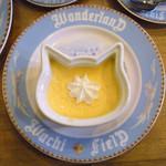 ダヤンカフェ - ダヤン型ココットのプリン ¥350