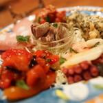 ピッツェリア ナポレターナ ラ・タヴォロッツァ - 前菜盛り