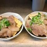 東五反田一丁目酒場 - 肉豆腐600円2つに分けてくれた。