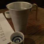 sacra - 謎のコップ酒