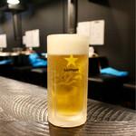 ひつじやジンギスカン - ■生ビール 450円