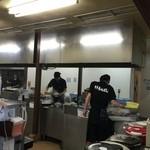 井手ちゃんぽん - 調理場!