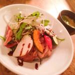 47289917 - 豚味噌漬けと彩り野菜の丼ぶり