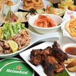 Hawaiian Diner Huli Huli Cafe & Bar - 料理写真:グループ用コースイメージ