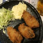 七津屋 - カキフライ