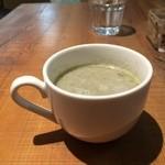 ひょうごイナカフェ - からし菜のスープ(2016.2.9)