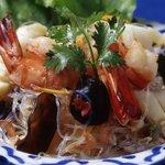ザ・サイアム - 魚介と春雨の激辛サラダ【ヤム ウン セン】