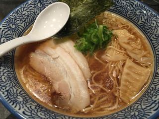 極上濃厚煮干らーめん・つけ麺 麺屋 星乃音 - 煮干ラーメン 750円