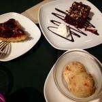 オルオルカフェ - デザートの数々です